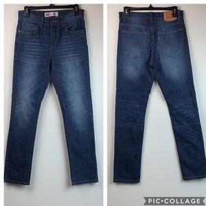Levi's 510 skinny jeans slim (18R) cut 29x29 EUC